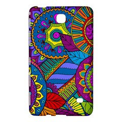 Pop Art Paisley Flowers Ornaments Multicolored Samsung Galaxy Tab 4 (8 ) Hardshell Case  by EDDArt