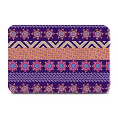 Colorful Winter Pattern Plate Mats by DanaeStudio