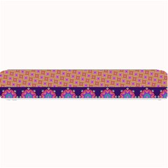 Colorful Winter Pattern Small Bar Mats by DanaeStudio