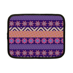 Colorful Winter Pattern Netbook Case (Small)