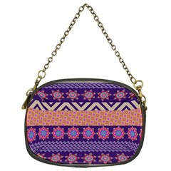 Colorful Winter Pattern Chain Purses (One Side)