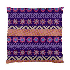Colorful Winter Pattern Standard Cushion Case (two Sides) by DanaeStudio
