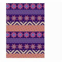 Colorful Winter Pattern Large Garden Flag (Two Sides)
