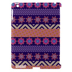 Colorful Winter Pattern Apple iPad 3/4 Hardshell Case (Compatible with Smart Cover)