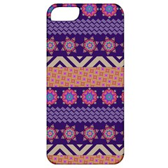 Colorful Winter Pattern Apple iPhone 5 Classic Hardshell Case