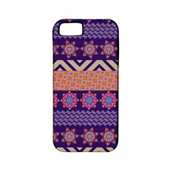 Colorful Winter Pattern Apple iPhone 5 Classic Hardshell Case (PC+Silicone)