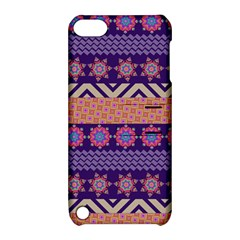 Colorful Winter Pattern Apple iPod Touch 5 Hardshell Case with Stand