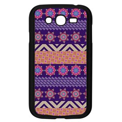 Colorful Winter Pattern Samsung Galaxy Grand DUOS I9082 Case (Black)