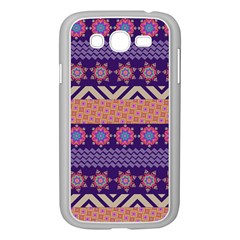 Colorful Winter Pattern Samsung Galaxy Grand DUOS I9082 Case (White)