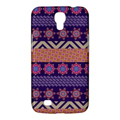 Colorful Winter Pattern Samsung Galaxy Mega 6 3  I9200 Hardshell Case by DanaeStudio