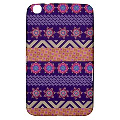 Colorful Winter Pattern Samsung Galaxy Tab 3 (8 ) T3100 Hardshell Case