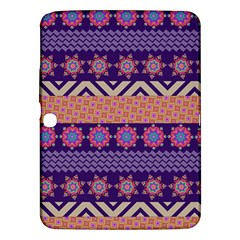 Colorful Winter Pattern Samsung Galaxy Tab 3 (10.1 ) P5200 Hardshell Case