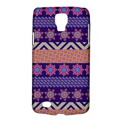 Colorful Winter Pattern Galaxy S4 Active by DanaeStudio