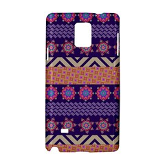 Colorful Winter Pattern Samsung Galaxy Note 4 Hardshell Case