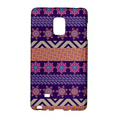 Colorful Winter Pattern Galaxy Note Edge