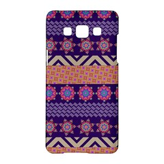 Colorful Winter Pattern Samsung Galaxy A5 Hardshell Case