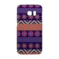Colorful Winter Pattern Galaxy S6 Edge