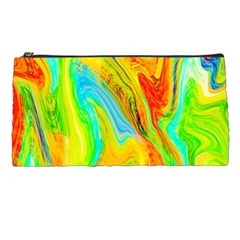 Happy Multicolor Painting Pencil Cases by designworld65
