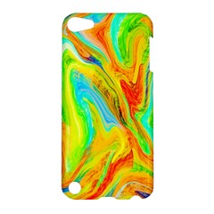 Happy Multicolor Painting Apple Ipod Touch 5 Hardshell Case by designworld65