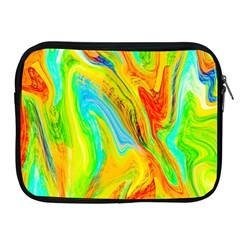 Happy Multicolor Painting Apple Ipad 2/3/4 Zipper Cases by designworld65