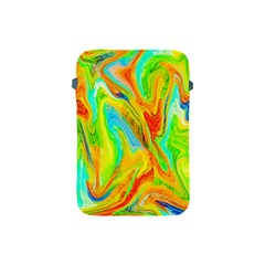 Happy Multicolor Painting Apple Ipad Mini Protective Soft Cases by designworld65