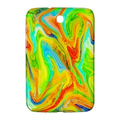 Happy Multicolor Painting Samsung Galaxy Note 8 0 N5100 Hardshell Case  by designworld65