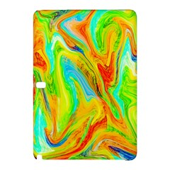 Happy Multicolor Painting Samsung Galaxy Tab Pro 12 2 Hardshell Case by designworld65