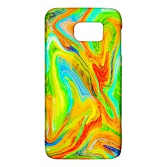 Happy Multicolor Painting Galaxy S6 by designworld65