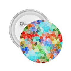 Colorful Mosaic  2 25  Buttons by designworld65