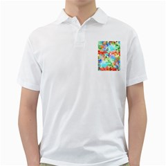 Colorful Mosaic  Golf Shirts by designworld65