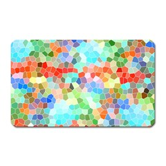Colorful Mosaic  Magnet (rectangular) by designworld65