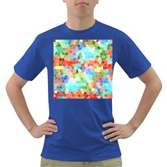 Colorful Mosaic  Dark T Shirt by designworld65