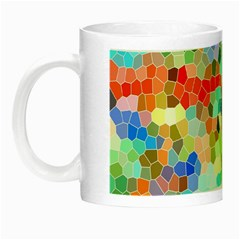 Colorful Mosaic  Night Luminous Mugs by designworld65