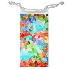 Colorful Mosaic  Jewelry Bags by designworld65