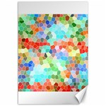 Colorful Mosaic  Canvas 12  x 18   18 x12 Canvas - 1