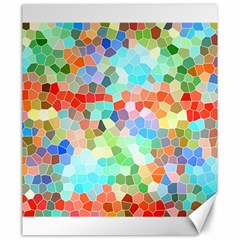 Colorful Mosaic  Canvas 20  X 24   by designworld65