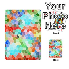Colorful Mosaic  Multi Purpose Cards (rectangle)  by designworld65