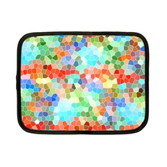 Colorful Mosaic  Netbook Case (small)  by designworld65
