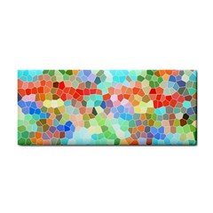 Colorful Mosaic  Hand Towel by designworld65