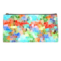 Colorful Mosaic  Pencil Cases by designworld65