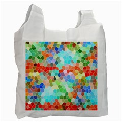 Colorful Mosaic  Recycle Bag (Two Side)