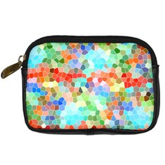 Colorful Mosaic  Digital Camera Cases by designworld65