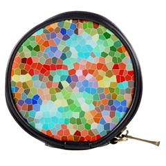 Colorful Mosaic  Mini Makeup Bags by designworld65