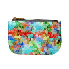 Colorful Mosaic  Mini Coin Purses by designworld65