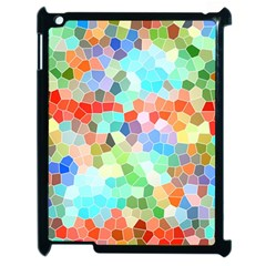 Colorful Mosaic  Apple Ipad 2 Case (black) by designworld65