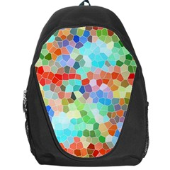 Colorful Mosaic  Backpack Bag by designworld65