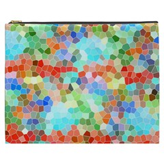 Colorful Mosaic  Cosmetic Bag (XXXL)