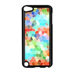 Colorful Mosaic  Apple Ipod Touch 5 Case (black) by designworld65