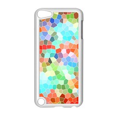 Colorful Mosaic  Apple Ipod Touch 5 Case (white) by designworld65