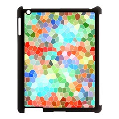 Colorful Mosaic  Apple Ipad 3/4 Case (black) by designworld65